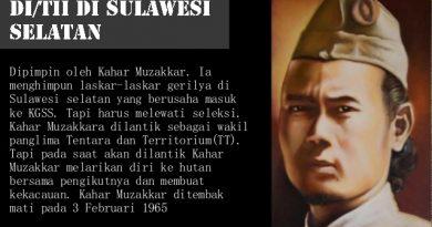 Kisah Pasukan Tande dan DI/TII di Sulawesi
