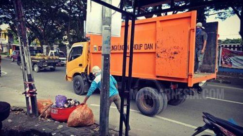 Setiap Hari DLHK Mamuju Angkut 98.000 Kubik Sampah