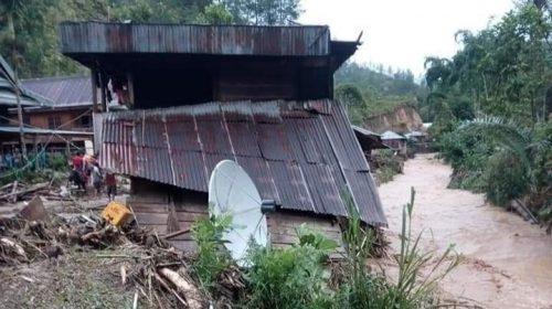 BPBD Kesulitan Jangkau Lokasi Banjir di Mamasa