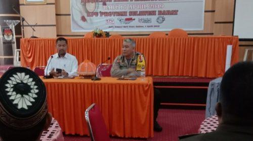 Keamanan Jaga 24 Jam TPS Pemilu 2019