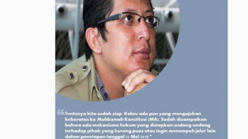 KPU Sulbar Siap Jika Hasil Pemilu Di-PHPU