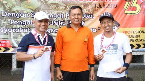 Juarai Turnamen Tenis Hut Bhayangkara, Habsi: Saya Bangga