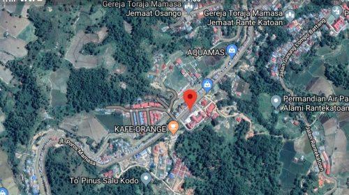 Aktivitas Sesar Sa'ddang, Gempa Tektonik Guncang Mamasa
