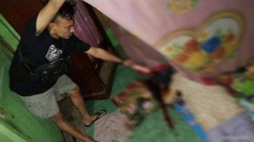 NR Menyerahkan Diri Di Polsek Tapalang Setelah Gorok Istrinya