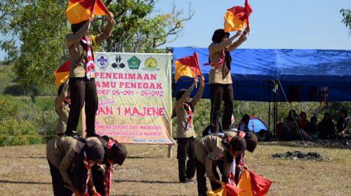 Kemah Pramuka di Bukit Talumung