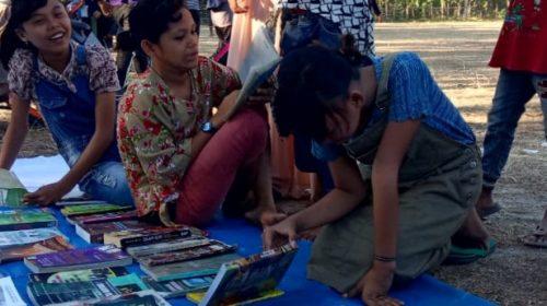 IMSS Bangkitkan Minat Baca Masyarakat Desa
