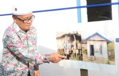 Rumah Nenek Patima Diresmikan Usai Habsi Diadang Kelompok Pemuda