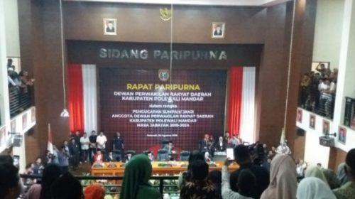 Pelantikan Anggota DPRD, AIM Bicara Penghargaan dan Target
