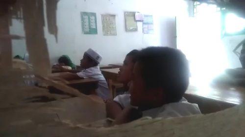 Gedung MI Paga di Malunda Butuh Donasi
