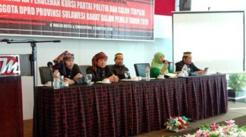 Pleno Penetapan, Komisioner KPU Kompak Berbaju Adat