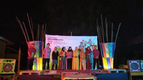 Lomba Nyanyian Mandar di Harlah Desa Sambaliwali