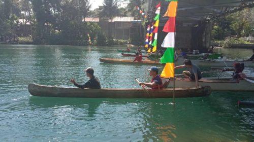 Lomba Perahu Dayung Rangkaian Peringatan HUT RI
