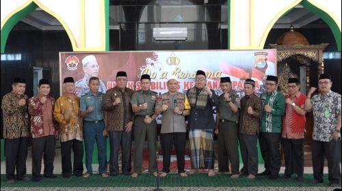Doa Bersama Polda Sulbar Untuk Papua