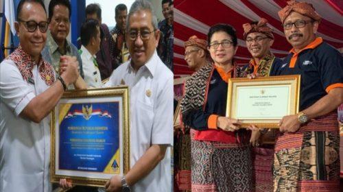 Pemda Mamuju Raih Penghargaan Opini WTP dan Eliminasi Malaria