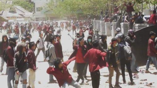 Lima Mahasiswa Ditetapkan Tersangka Demo Ricuh di DPRD Majene