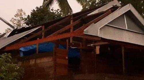 Puluhan Rumah Rusak di Polman Akibat Angin Puting Beliung
