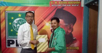 Irfan Syarif Daftar di PKB