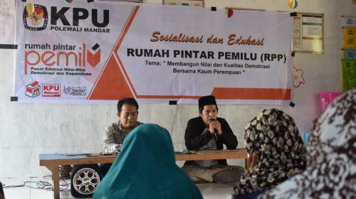 KPU Polewali Ajak Perempuan Cerdas Kawal Demokrasi dan Pemilu