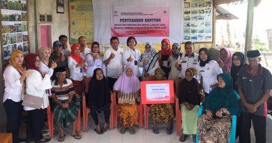 BRSLU Gau Mabaji Salurkan Bantuan Perawatan Sosial Lansia