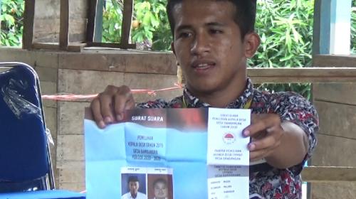 Pilkades, Tiga Petahana di Malunda Tumbang