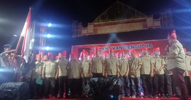 HM. Natsir Rahmat Hadir pada Pelantikan AMP di Tapango