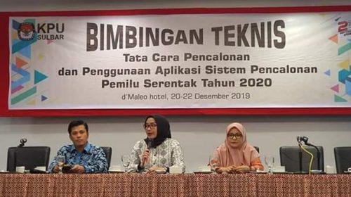 Pesan Evi Novida Buat KPU Kabupaten di Sulbar