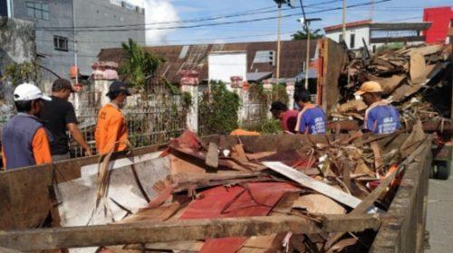 Bersih-Bersih Kota Mamuju Jelang FMM