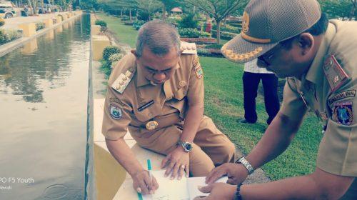 Bupati Polewali Mandar Layani ASN di Taman Kota