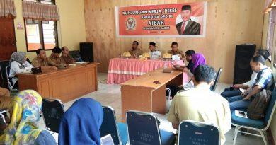 Reses Pemantauan UU No. 6 Tentang desa di kecamatan Polewali dgn peserta pendamping desa dan kepala desa sekecamatan binuang dan polewali.