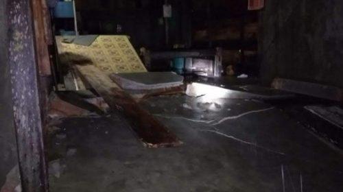 Ombak Besar Terjangan Pesisir Tapalang, 11 Rumah dan Satu Sekolah Rusak