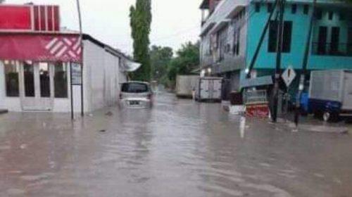 Wilayah Lembang Majene Sempat Terendam Banjir