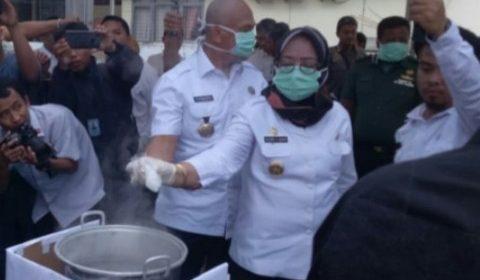 Wakil Gubernur Sulbar Ikut Musnahkan Sabu