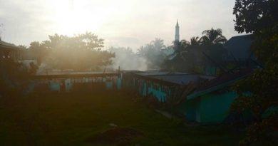 Kesaksian Santri, Ada Ledakan Sebelum Pondok Pesantren Al-ikhlas Terbakar