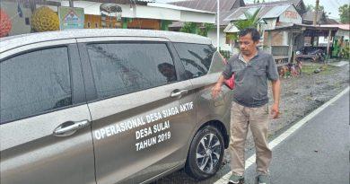 Kendaraan Operasional Desa Sulai Mulai Beroperasi