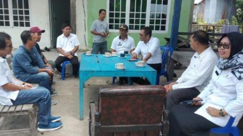 Monev di Papalang Irwan Pababari: Jalan Desa Start 2020 Finis 2021