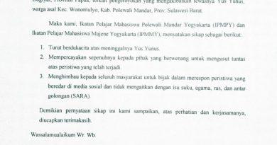 IPMPY-IPMMY : Tragedi Yus Yunus Jangan Dikaitkan Isu SARA