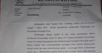 Kepala Desa Lombang Pecat Staf Secara Sepihak, Dinas PMD: Itu Ilegal