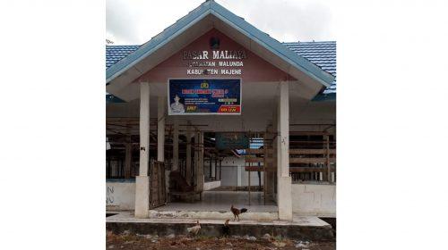 Ini Dampak Covid-19 Bagi Pasar Maliaya, Malunda
