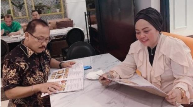 Bertemu SDK, Asyifa Bahas Masa Depan Sulbar Hingga Pilkada Mamuju