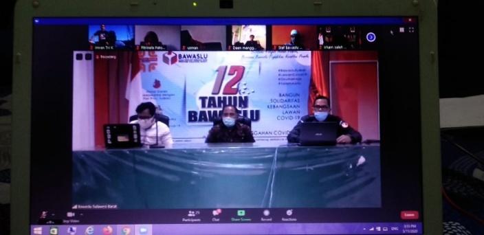 Bawaslu Sulbar Gelar Pelatihan Jurnalistik