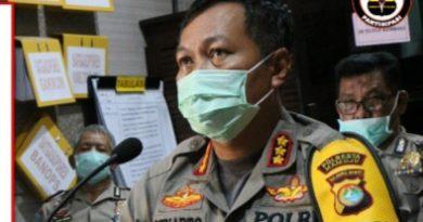 Polresta Mamuju Kejar Penyebar Hoaks 31 Polisi Positif Covid-19