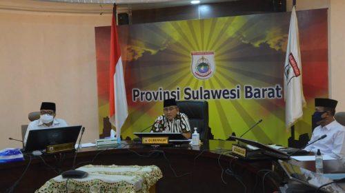 Gubernur Sulbar Launching Pembayaran Zakat 1441 Hijriah