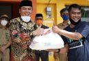 Senator Ajbar Bersama Kepala BPKP Sulbar Pantau Pembagian Sembako Pemprov Sulbar