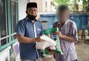 Senator Ajbar Kembali Berbagi Sembako 750 Paket