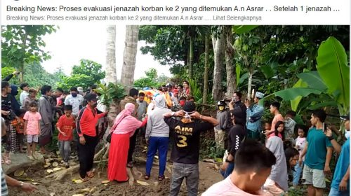 Dua Warga Ditemukan Tak Bernyawa, Satu Masih Hilang