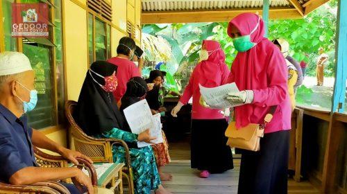 Senator Ajbar : Gedoor Bersih Covid-19 Harus Didukung