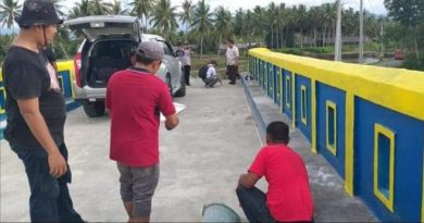 Pemkab Mamuju Selesaikan Pembangunan Jembatan di Papalang