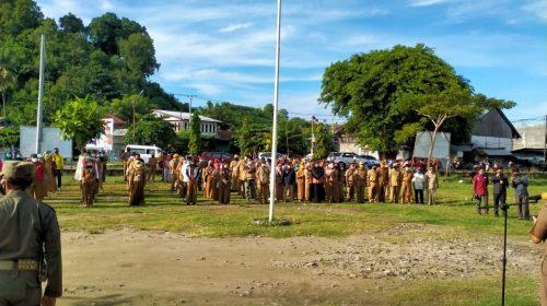 Gedoor Bersih Covid-19 Polman Pertama Libatkan Aparat 354 Orang