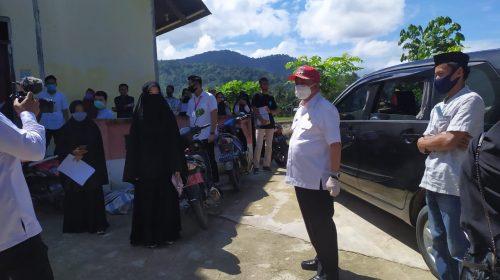 Gedoor Bersih Covid-19 Meringsek ke Kecamatan Matakali dan Polewali