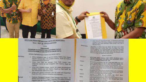DPP Golkar Rekomendasi Tiga Petahana di Sulbar